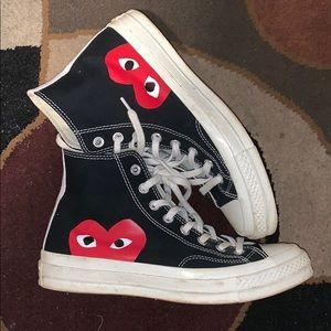 Cdg converse (black)